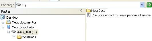 Organização ideal para arquivos em um dispositivo de armazenamento em massa